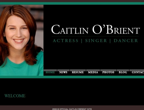 Creating the Ultimate Actor Website